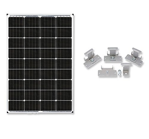 Zamp Solar 115-Watt RV Solar Expansion Kit | ZS KIT1008