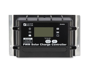 Zamp Solar 60A Indoor Solar Controller w/Remote Display | ZS-60A