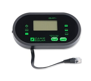 Zamp Solar Digital Solar Charge Controller Remote Display | ZS-RT1