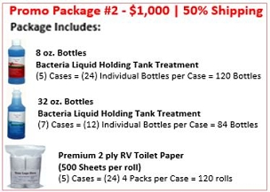 Holding Tank Treatment | Promo Package #2