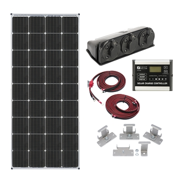 Zamp Solar 170-Watt Roof Mount Kit  | ZS KIT1005