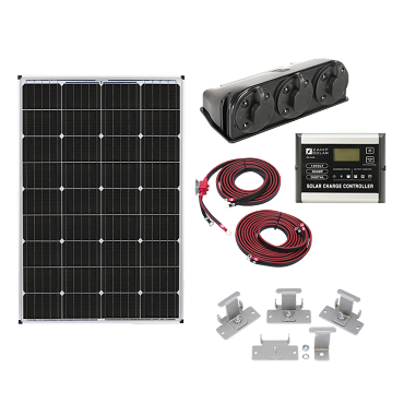Zamp Solar 115-Watt Rooftop RV Solar Panel Kit | ZS KIT1003
