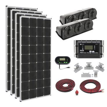 Zamp Solar MEGA 1020-Watt RV Solar Panel Kit | ZS KIT1014