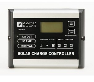 Zamp Solar 30 Amp Digital PWM Solar Charge Controller | ZS-30A