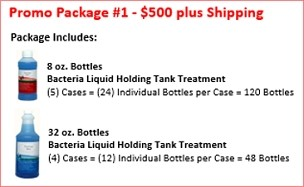 Holding Tank Treatment | Promo Package #1