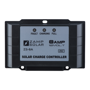 Zamp Solar  8 Amp Waterproof Solar Charge Controller | ZS-8AW