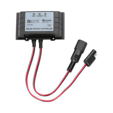 Zamp Solar 8-Amp Solar Maintainer Charge Controller | ZS-8AW-PP